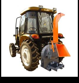 Рубильная машина тракторная