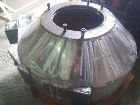 передняя крышка гранулятора из нержавейки