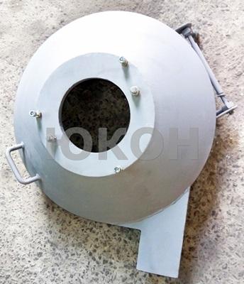 Передняя крышка гранулятора огм 0.8