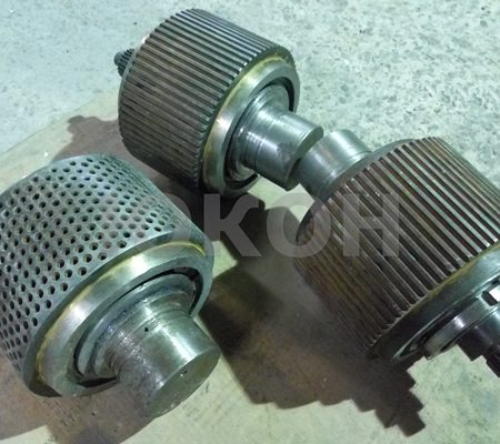 Расходные части для гранулятора ГТ-420, ГТ-500, ГТ-520, ГТ-630